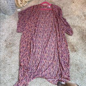 Floor length Kimono